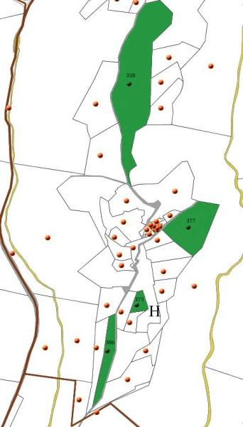 Parcelles des PONS autour du Travignon