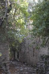 L'entrée du hameau