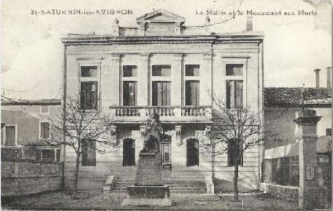 Le monument en 1930